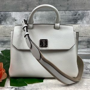 MCM backpack purse Milla white bag